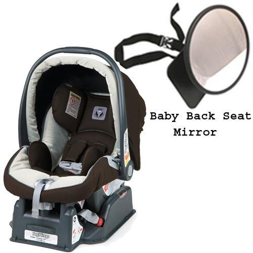Peg Perego 2011 Primo Viaggio sip 30 30 Car Seat w Back Seat Mirror - Java