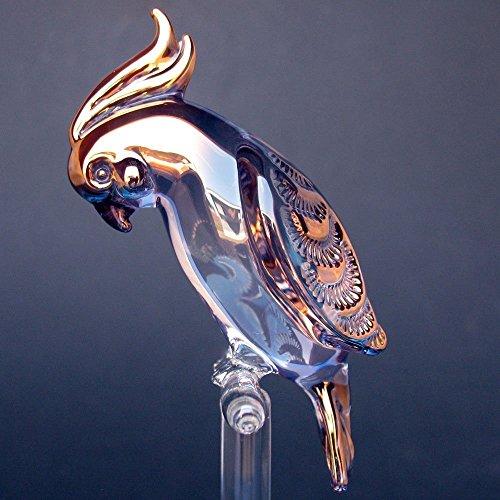 cockatoo-figurine-of-hand-blown-glass