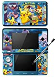 Pokemon Black and White -g- Game Skin for Nintendo 3DS Console