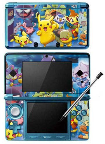 Pokemon X and Y -g- Game Skin Case Cover for Nintendo 3DS Console