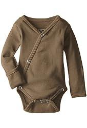 L'ovedbaby Unisex-Baby Newborn Organic Kimono Bodysuit