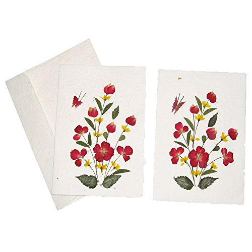 Popular birthday wishes delete cards for handmade pressed flower handmade pressed flower greeting card designs m4hsunfo