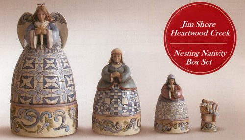 Jim Shore Heartwood Creek Nesting Nativity Box
