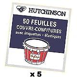 HUTCHINSON - Feuilles couvre confitures 5 Sachets de 50