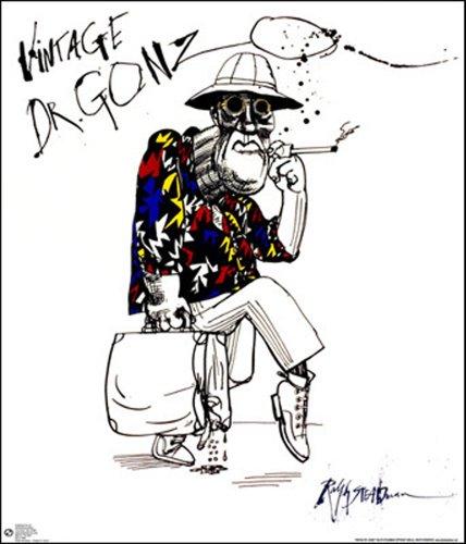 Gonzo Ralph Steadman Poster