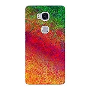 Inkif Printed Designer Case Mobile Back Cover For Huawei Honor 5X