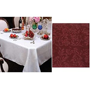 "Amazon.com - Bdy Damask Table Cloth Linens 60"" X 90"" Rectangle"