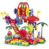 Learning Resources Gears! Gears! Gears! Dizzy Fun Land Motorized Set