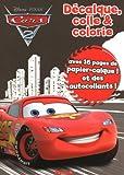 echange, troc Collectif - Décalque  colle & colorie cars 2