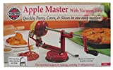 Norpro 866R Apple Master-Apple, Potato, Parer, Slicer & Corer with Vacuum Base