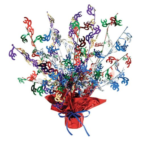 30 Gleam 'N Burst Centerpiece (multi-color) Party Accessory  (1 count) (1/Pkg) - 1