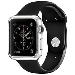 Apple Watch ケース, Spigen® アップル ウォッチ (42mm) リキッド・クリスタル  (2015) (リキッド・クリスタル【SGP11495】)