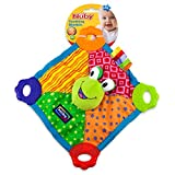Nuby Art. 6568 Teething Blankie Toy - Frog