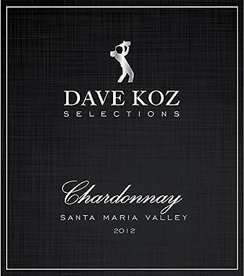 2012 Dave Koz Selections Santa Maria Chardonnay by Koz Wines