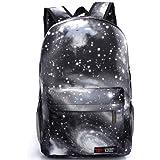 G1 New hot sale Galaxy backpack unisex school bag travel bag (black)