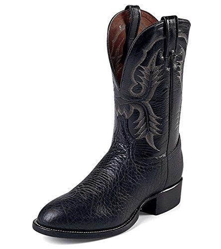 (トニーラマ) TONY LAMA ウエスタン ブーツ  ブラック ブルハイド CT2036 <並行輸入品>  9.5EE