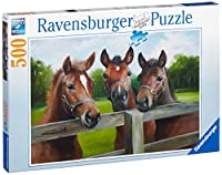 Friedliche Pferde - 500 Teile Puzzle von Ravensburger