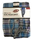 Mens Striped/Checked Woven Polycotton Spring Summer Pyjama Nightwear Trouser Pjs Loungewear (Small)