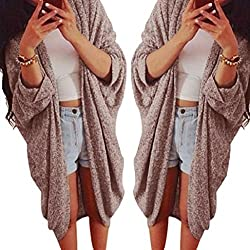 Vovotrade® Womens Lady Casual Knit Sleeve Sweater Coat Cardigan Jacket by Vovotrade®