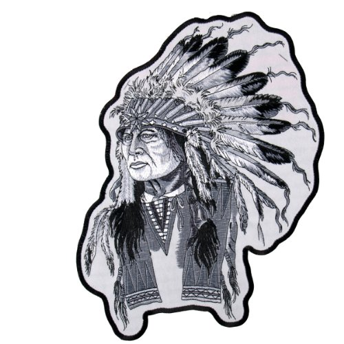 Hot Leathers Indian Chief Patch (4