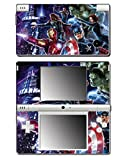 The Avengers Captain America Iron Man Thor Video Game Vinyl Decal Skin Sticker Cover for Nintendo DSi System