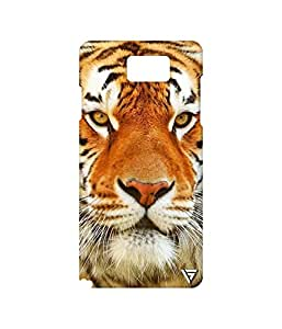 Vogueshell Tiger Face Printed Symmetry PRO Series Hard Back Case for Samsung Galaxy Note 5