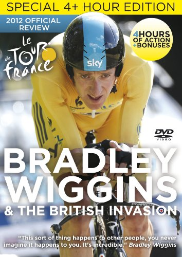 Tour de France 2012: Bradley Wiggins & The British Invasion - Extended Highlights [DVD]