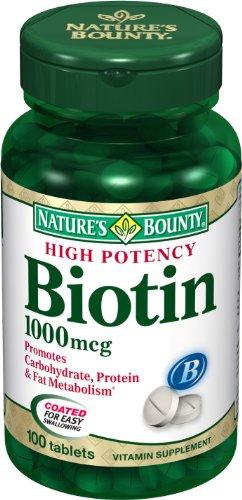 Nature Made Biotin Ingredients