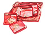 SPEAK Homes Small Jewelry Box/Case with 10 Pouches