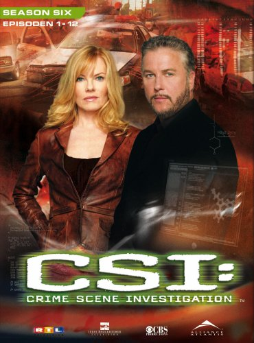 CSI: Crime Scene Investigation - Season 6.1 (3 DVD Digipack)