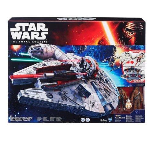 Star Wars - Halcón milenario electrónico (Hasbro B3678EU4)