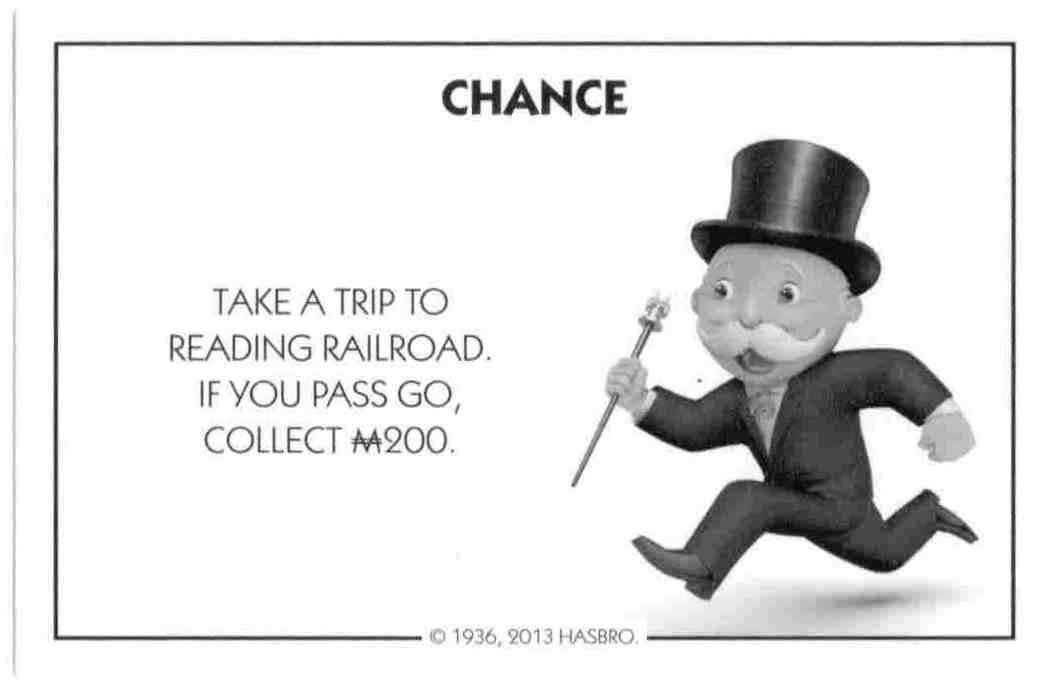 Amazon.com: Monopoly Chance Card - Your Building Loan Matures ...