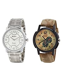 Relish Analog Round Casual Wear Watches For Men Combo - B01ANCDY2A