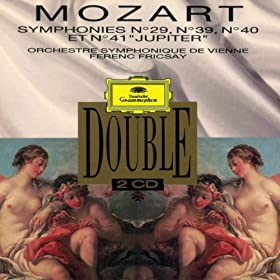 Mozart: Symphonies Nos. 29, 39-41