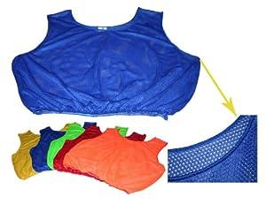Men Scrimmage Vests (Set of 10) Color: Red by Cintz