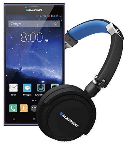 Blaupunkt SONIDO X1 Superior 3D Stereo Headphone(free) Smatpone for music lovers in Black