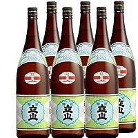 銀嶺 立山 本醸造 1.8L × 6本