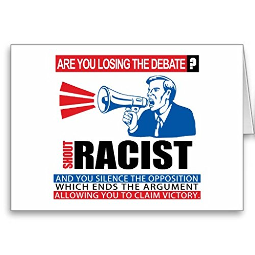 Shout Racist Cards