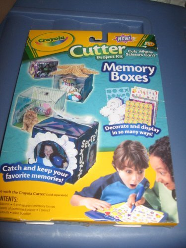 "Crayola Cutter, Cutter Project Kit ""Memory Boxes"" - 1"