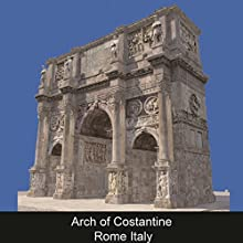 Arch of Constantine Rome Italy (ENG) Audiobook by Caterina Amato Narrated by Karolina Starin