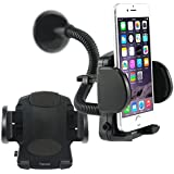 kingsmart Car Kit Flexible Stand Holder Mount for Iphone PDA GPS