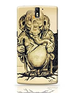 PosterGuy OnePlus One Case Cover - Lord Ganesha Sketch Religious,Spiritual,Ethnic,Culture,Painting,Portrait