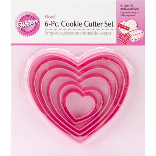 Wilton Nesting Heart Cutter Set (Heart Cutters compare prices)