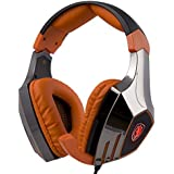 SADES A60 7.1 Surround Stereo PC Pro USB Gaming Headset Headphone With High Sensitivity Mic Vibration(Electroplating...