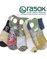 (ラソックス)rasox ミスマッチ・ロウ ソックス ショート
