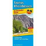 Radwanderkarte Taunus-Rheinhessen: Mit Ausflugszielen, Einkehr- & Freizeittipps, wetterfest, reissfest, abwischbar, GPS-genau. 1:100000