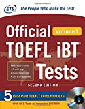 img - for Official TOEFL iBT  Tests Volume 1, 2nd Edition book / textbook / text book