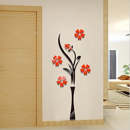 ufengker-3d-ciruelo-rojo-florero-acrilico-pegatinas-de-pared-la-decoracion-del-hogar-del-arte-de-la-