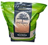 truRoots Organic Quinoa 100% Whole Grain Premium Quality 4 lbs Bag