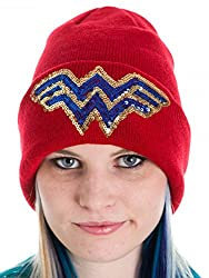DC Comics Wonder Woman Beanie - Red